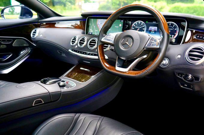 Mercedes Sprinter interiør
